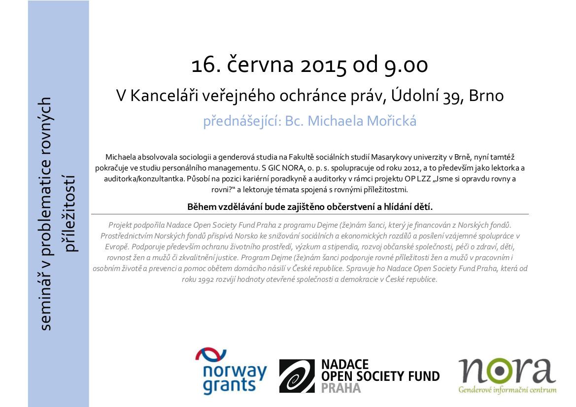 Seminar 16.6.2015