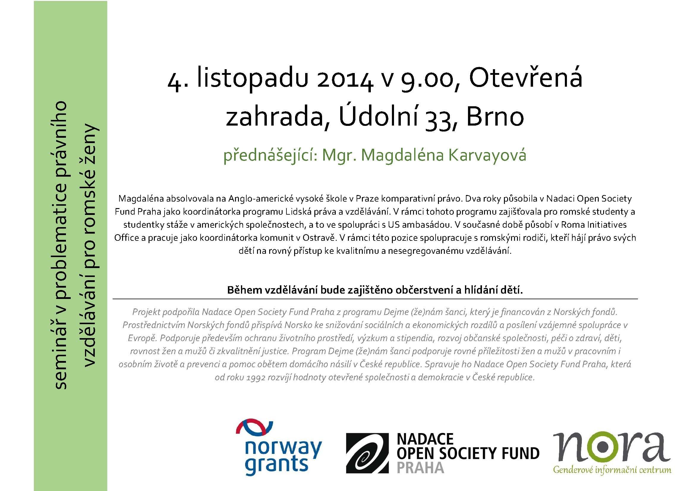 Seminar 4.11.